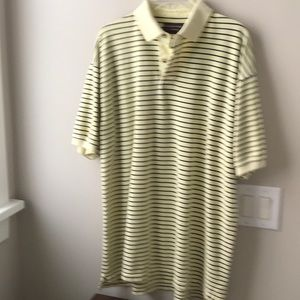 Mans Roundtree & Yorke striped polo shirt
